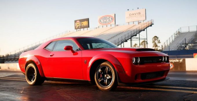 2019 Dodge Challenger Demon Exterior