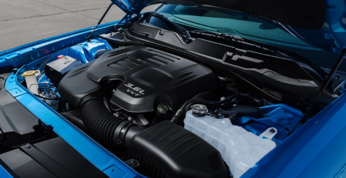 2019 Dodge Challenger Engine
