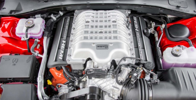 2019 Dodge Hellcat Charger Engine
