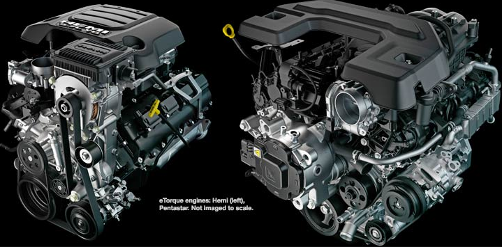 2019 Dodge Ram 1500 Engine