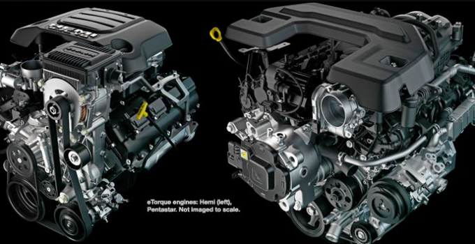 2020 Dodge Ram Rebel Engine