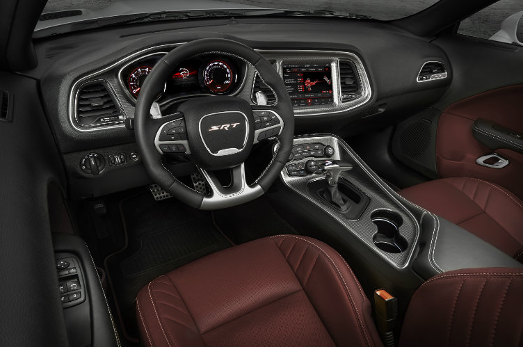 2019 Dodge Challenger SRT Interior