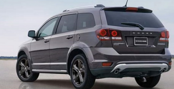 2019 Dodge Journey Crossroad Exterior