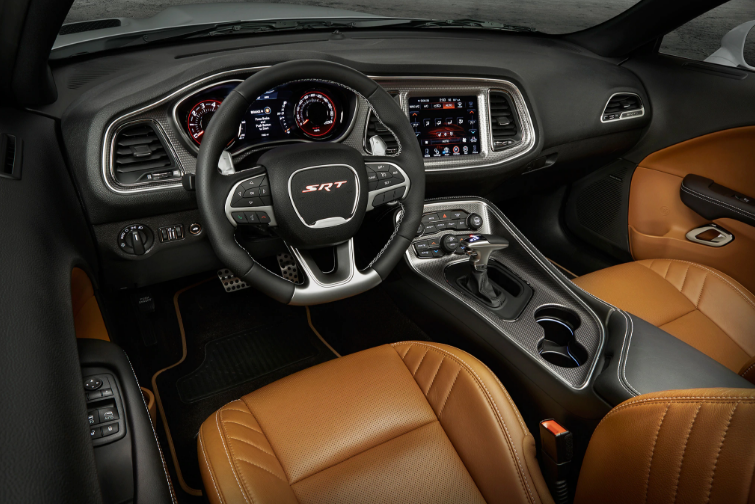 2021 Dodge Barracuda interior